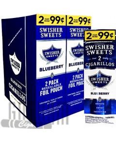 Swisher Cigarillo Blueberry(2ตัว)
