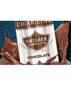 Swisher Cigarillos Chocolate(2ตัว)