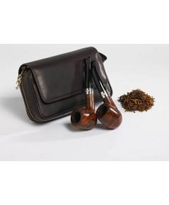 กระเป๋าหนัง ใส่ยาเส้นไปป์ Peterson POU147