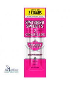 Swisher Cigarillos Strawberry(2ตัว)