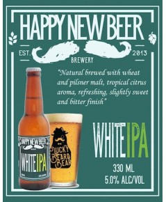 Happy New Beer White IPA(ขวด)