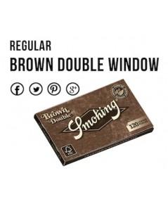 กระดาษ70mm.Brown Double Window