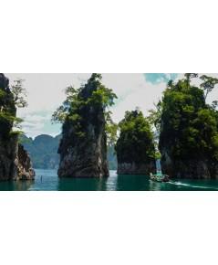 โปรแกรมทัวร์,แพ็คเกจทัวร์,สุราษฏร์ธานี,เขื่อนรัชชประภา,หมู่เกาะอ่างทอง,เกาะสมุย,เขาสก