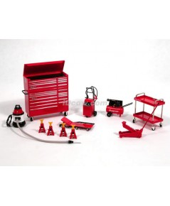 Snap-on Garage Series 1/18 scale  No07001