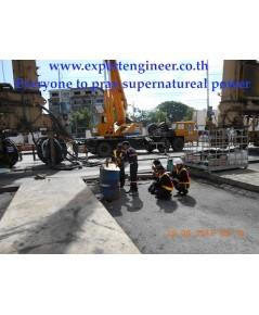RTG:rubber tyred gantry crane