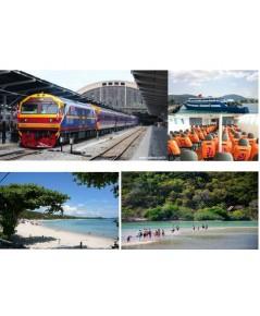 ตั๋วรถไฟจากกรุงเทพ ไปเกาะพะงิน