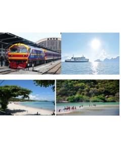 ตั๋วรถไฟจากกรุงเทพ ไปเกาะพงัน