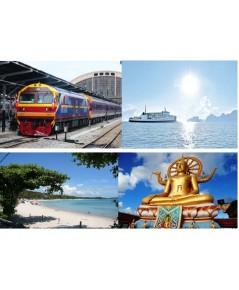 ตั๋วรถไฟจากกรุงเทพ ไปเกาะสมุย