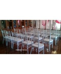 ให้เช่าเก้าอี้ชิวารี เช่าเก้าอี้ ชิวารีสีขาว ชิวารีคริสตัล