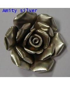 จี้เงินกะเหรี่ยงรูปดอกกุหลาบ, PD_ND_Rose-006