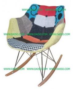 เฟอร์นิเจอร์นำเข้า เก้าอี้โยกแนวเรโทร เก้าอี้นำเข้า_CD-305