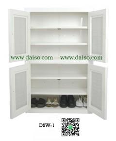 ตู้รองเท้าพลาสติก 6 ชั้น DSW-1