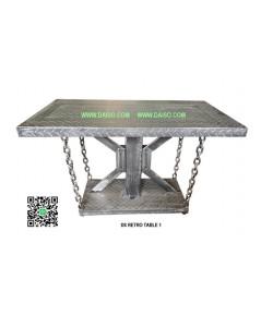 โต๊ะเหล็กทำสี DS-RETRO TABLE 1