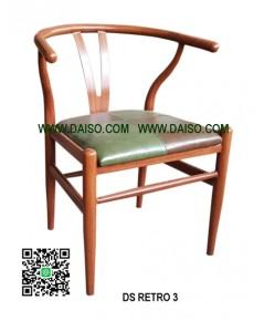 เก้าอี้เหล็ก แนวเรโทร DS-RETRO 3