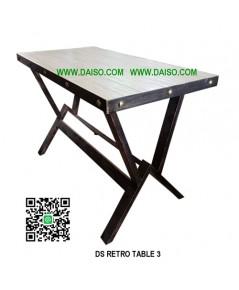 โต๊ะเหล็กทำสี DS-RETRO TABLE 3