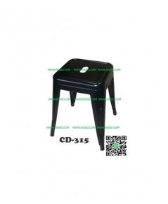 เก้าอี้เหล็กพ่นสีอบ CD-315