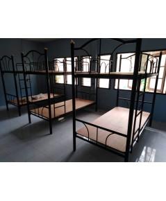 ส่งเตียงเหล็ก 2 ชั้น ขนาด 3  ฟุต DS-Bed-3
