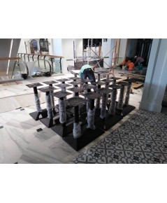 ขาโต๊ะเหล็กหล่อกลม/ขาโต๊ะอาหารสำเร็จรูป/T-167J