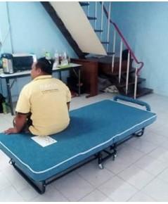 เตียงเหล็ก เตียงเสริมพับได้ 3 ฟุต DS-Bed39