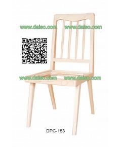 เก้าอี้ทานอาหารไม้ยางพารา  DPC-153
