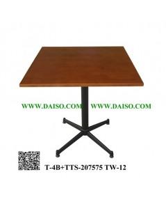 ขาโต๊ะพร้อมหน้าโต๊ะ T-4B+TTS-207575 TW-12