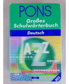 Pons Deutsch dictionary เยอรมัน