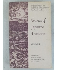 Sources of Japanese Tradition Volume II