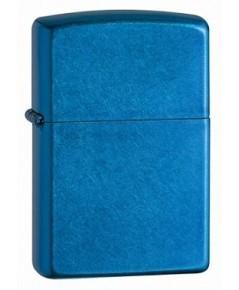 ไฟแช็ค Zippo Cerulean Blue Translucent Coating Finish Lighter (24534)