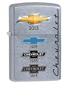 ไฟแช็ค Zippo Chevy Timeline Street Chrome (28846)