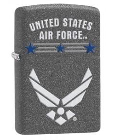 ไฟแช็ค Zippo Us Airforce Iron Stone (29121)