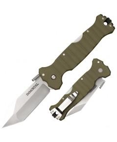 มีดพับ Cold Steel Immortal Folding Knife CTS-XHP Plain Blade, OD Green G10 Handles (23GVG)