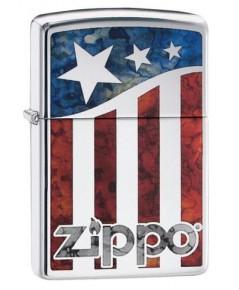 ไฟแช็ค Zippo US Flag (29095)