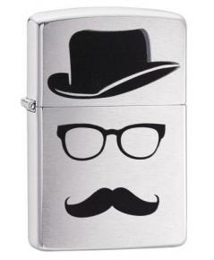 ไฟแช็ค Zippo Mustache and Hat (28648)