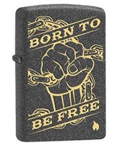ไฟแช็ค Zippo Fist Chain Born Free Design (29687)