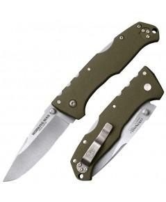 มีดพับ Cold Steel Working Man Folding Knife German 4116 Stainless Blade, OD Green GFN Handles (54NVG