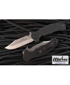 มีดพับ Emerson Aftershock Folding Knife Stonewash Plain Blade, G-10 Handles (AFTERSHOCK-SF)