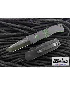 มีดออโต้ Pro-Tech USN GX Custom Emerson CQC7 AUTO Folding Knife, Black/Neon Green Handles