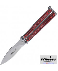 มีดบาลิซอง Bradley Kimura Balisong Butterfly Knife, Spear Point Blade, Red/Black G10 Handles(BCC904)