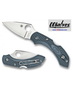 มีดพับ Spyderco Dragonfly 2 Blue/Gray FRN V-Toku2/SUS310 Sprint Run (C28FPBLE2)