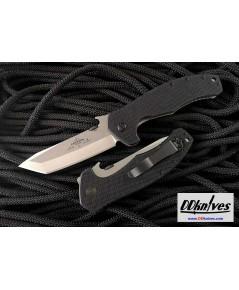 มีดพับ Emerson Roadhouse Folding Knife Stonewash Plain Tanto Blade, G10 Handles (RDHS-SF)