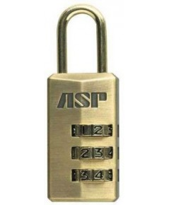 กุญแจล็อคกระเป๋าเดินทาง ASP Three Disk Combination Lock (59509)