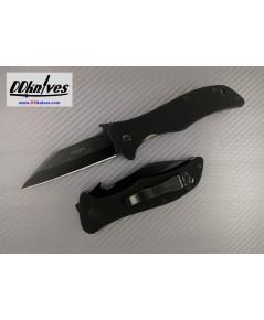 มีดพับ Emerson Seax Folding Knife Black Plain Blade with Wave, Black G10 Handles (SEAX-BT)