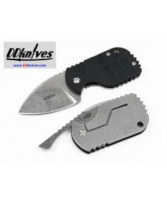 มีดพับ Boker Plus CLB Subcom Friction Folding Neck Knife, Black G10 Handles, Kydex Sheath (01BO610)