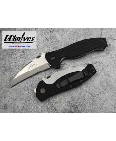 มีดพับ Emerson SARK Folding Rescue Knife Satin Plain Blunt Tip Blade, G10 Handles (SARK-SF)