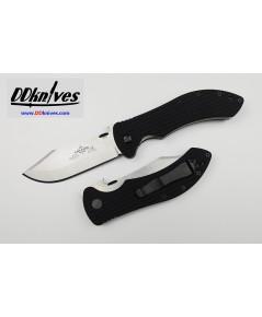 มีดพับ Emerson Market Skinner Folding Knife Plain Blade with Wave, Black G10 Handles (MKTSKNR-SF)