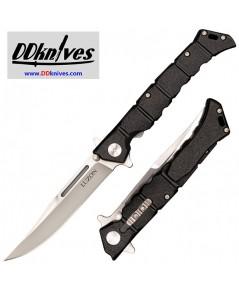 มีดพับ Cold Steel Medium Luzon Flipper Knife Plain Blade, Black GFN Handles (20NQL)