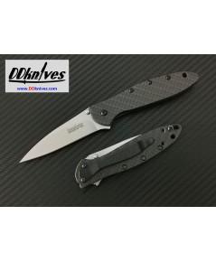 มีดพับ Kershaw Leek Limited Edition CPM-154 Blade, Glow-in-the-Dark Carbon Fiber Handles (1660GLCF)