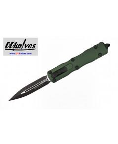 มีดออโต้ Microtech Dirac D/E OTF Automatic Knife Black Blade, OD Green Handles (225-1OD)