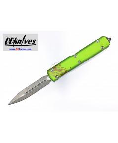 มีดออโต้ Microtech Ultratech Zombie Tech D/E OTF Automatic Knife Stonewash Blade (122-10Z)