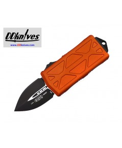 มีดออโต้ Microtech Exocet Dagger OTF Automatic Knife Black Blade, Orange Handles (157-1OR)